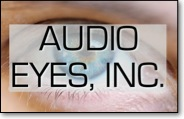 audio eyes incorporated banner and link