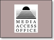 california media access office logo and link