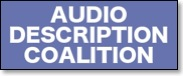 audio description coalition banner and link