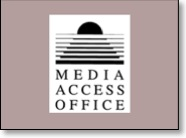 state of california media access office banner and link